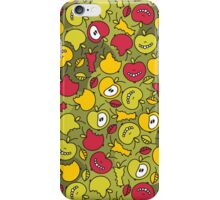 Crazy apples. iPhone Case/Skin