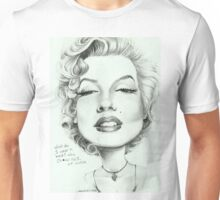 Marilyn (censored) caricature art by Sheik Unisex T-Shirt