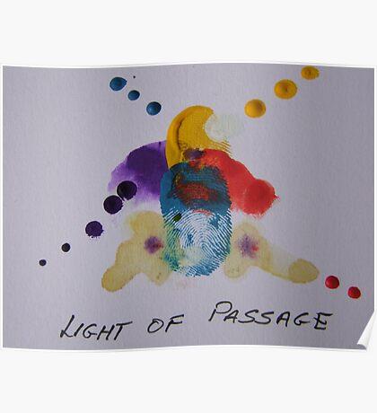 Light of passage Poster