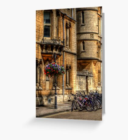 Oxford Bicycles Greeting Card