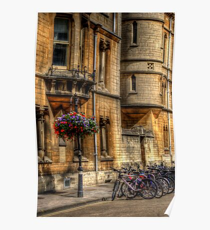 Oxford Bicycles Poster