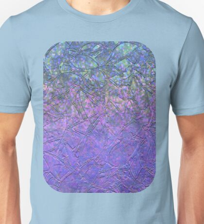 Sparkley Grunge Relief Background Unisex T-Shirt