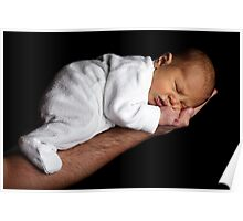 Sleeping baby sweet Poster
