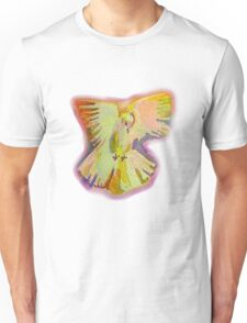 Dove Flurry 2 Tee/sticker Unisex T-Shirt