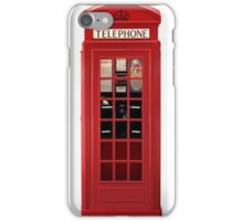 Red phonebox for iPhones iPhone Case/Skin