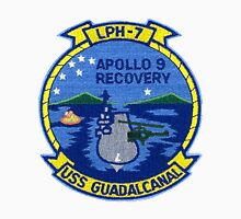 Apollo 9 Recovery:  USS Guadalcanal (LPH-7)  Women's Fitted Scoop T-Shirt