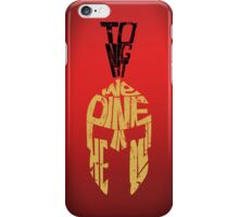 Tonight we dine in HELL!! - iPhone case iPhone Case/Skin