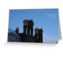 Morpeth Winter 2011 - Town Hall Greeting Card