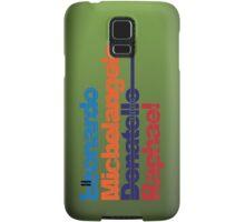 Leonardo, Michelangelo, Donatello, Raphael - iPhone case Samsung Galaxy Case/Skin