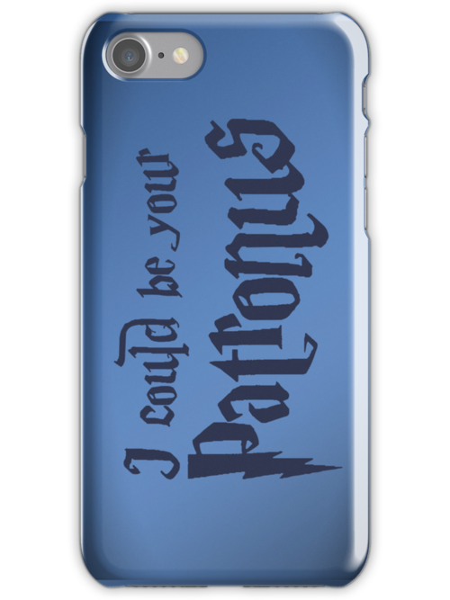 I could be your Patronus - iPhone case by D4N13L