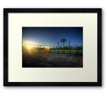 Hoops Heaven 2.0 Framed Print