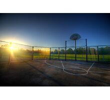 Hoops Heaven 2.0 Photographic Print