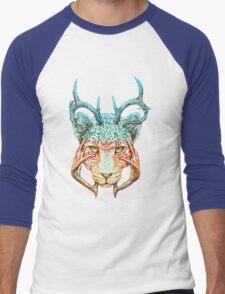 Cheedeera Men's Baseball ¾ T-Shirt