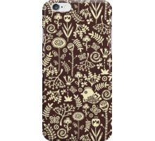 Birds and flowers. iPhone Case/Skin