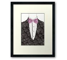 Mister Bow tie Framed Print