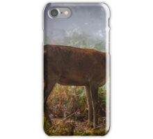 Portrait of a Red Deer Hind iPhone Case/Skin