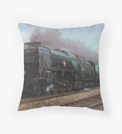 Atlantic Coast Express Throw Pillow