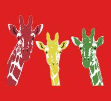 Rasta Giraffe Baby Tee