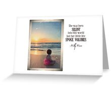 June 2012 - Lost For Words Greeting Card