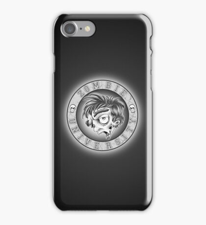 Zombie U Alumni Vintage B&W Case iPhone Case/Skin