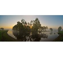 Misty Dawn 2.1 - Panoramic Photographic Print