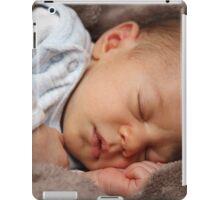 Sleeping baby girl iPad Case/Skin