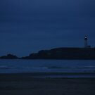 Night Lighthouse by Payne24