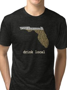 Drink Local - Florida Beer Shirt Tri-blend T-Shirt
