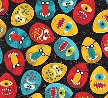 Ugly egggs. by Ekaterina Panova