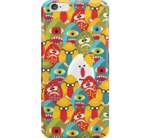 Chicken monster. iPhone Case/Skin