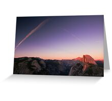 Half Dome Sunset - Yosemite National Park, CA Greeting Card