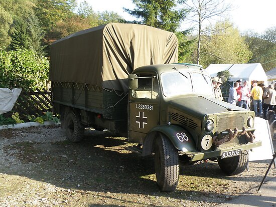 Captured Bedford OY Model. by Edward Denyer