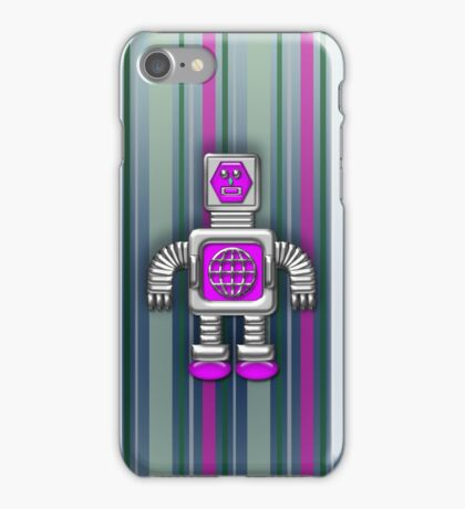Little Pink Robot iPhone Case for Kids iPhone Case/Skin