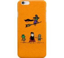 Shiny Metal Thing - Halloween Guys - Orange iPhone Case/Skin