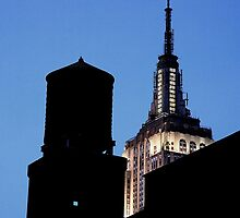 NYC skyline by artsMark