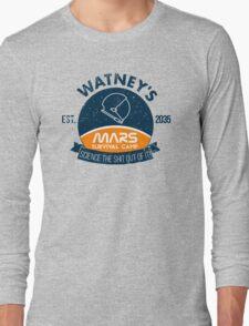 Watney's martian survival camp Long Sleeve T-Shirt