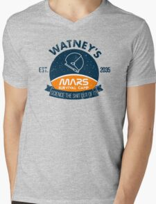 Watney's martian survival camp Mens V-Neck T-Shirt