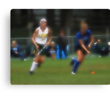 091611 107 0  water color field hockey Canvas Print