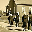 Walk to Church by Jennifer P. Zduniak