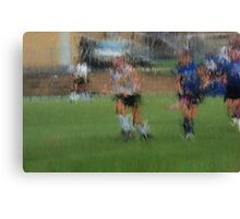 091611 120 0 pointillist field hockey dust Canvas Print