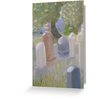 The Cemetary in Paradise Valley Nevada Greeting Card