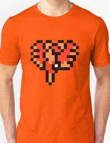 Retro Ho-Oh Overworld T-Shirt