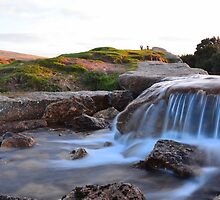 Dartmoor: The Leat at Windy Post Cross by Rob Parsons