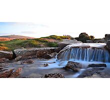Dartmoor: The Leat at Windy Post Cross Photographic Print