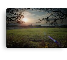 October Walks.  Canvas Print