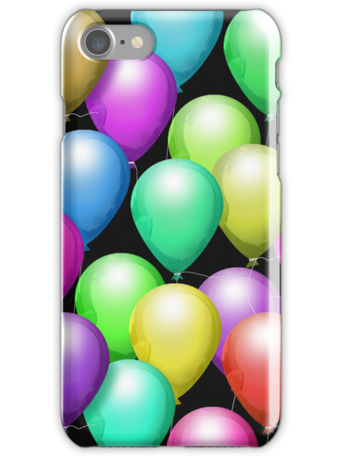 It is Balloon! iPhone Case by Cherie Balowski