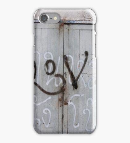 Love, love, love iPhone Case/Skin