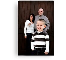 Look Who's In Charge Canvas Print