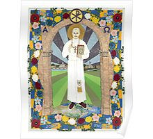 Icon of Pope Saint John Paul II Poster