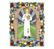 Icon of Pope Saint John Paul II Photographic Print